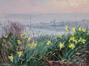 Spring Towards Penzance a limited edition print by Mark Preston